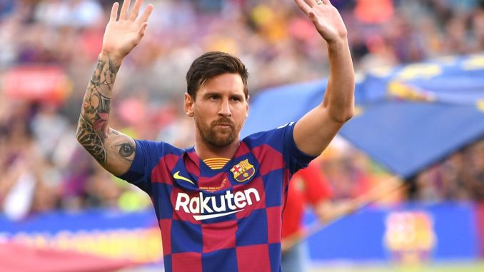 Lionel Messi FC Barcelona Cryptocurrency