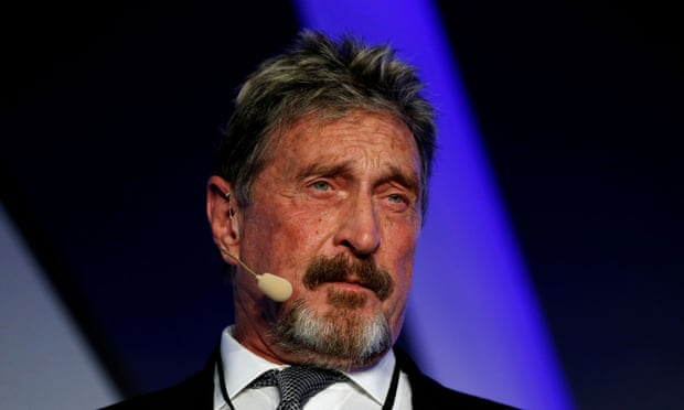 Anti-virus mogul John McAfee charged with fraud over crypto promotion