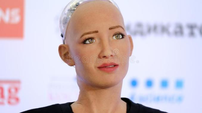 Sophia the Robot being sold at $1 million worth