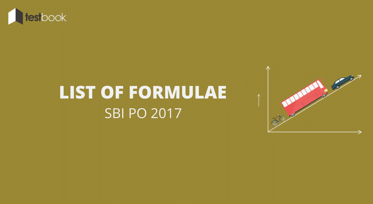 Formulae and Tricks in Quant for SBI PO (Part I)