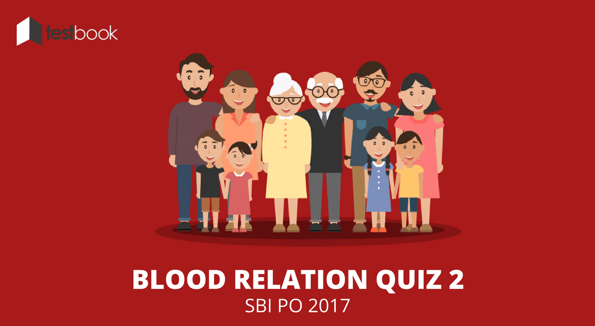 Advance Level Blood Relation Quiz SBI PO 2017