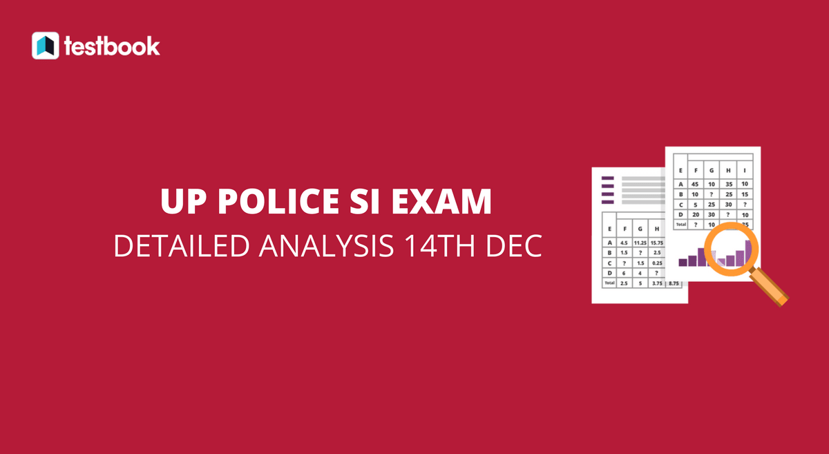 UP Police SI Analysis and Questions Asked 14th Dec 2017 - Testbook
