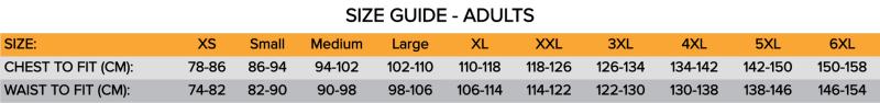 Leo size guide