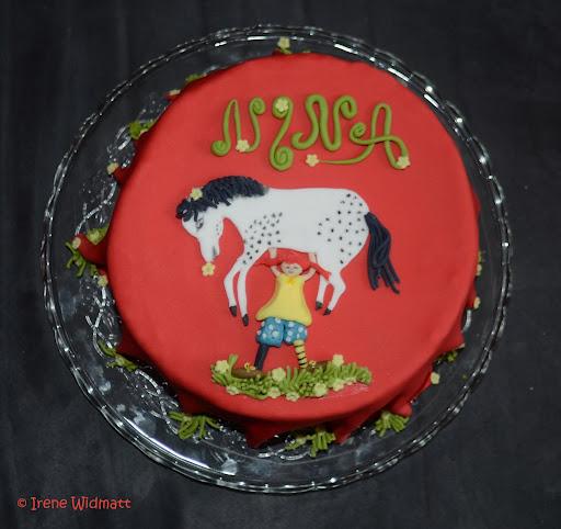 Pippi Langstrumpf Geburtstagstorte  testdichkrumm