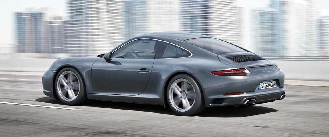 2017_Porsche_911_Carrera_Gray