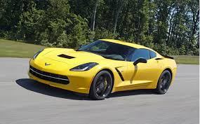 Yellow 2015 Corvette Stingray