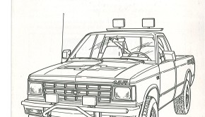 » 1991 Chevrolet S-10 Baja Press Release Photo