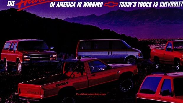 Chevrolet Truck Ad The Sharper Image