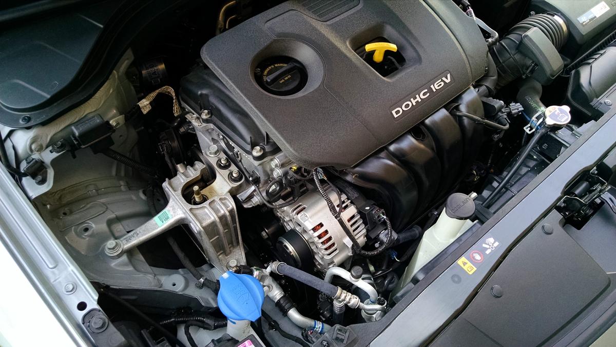 Under The Hood 2017 Hyundai Elantra 20 TestDrivenTV