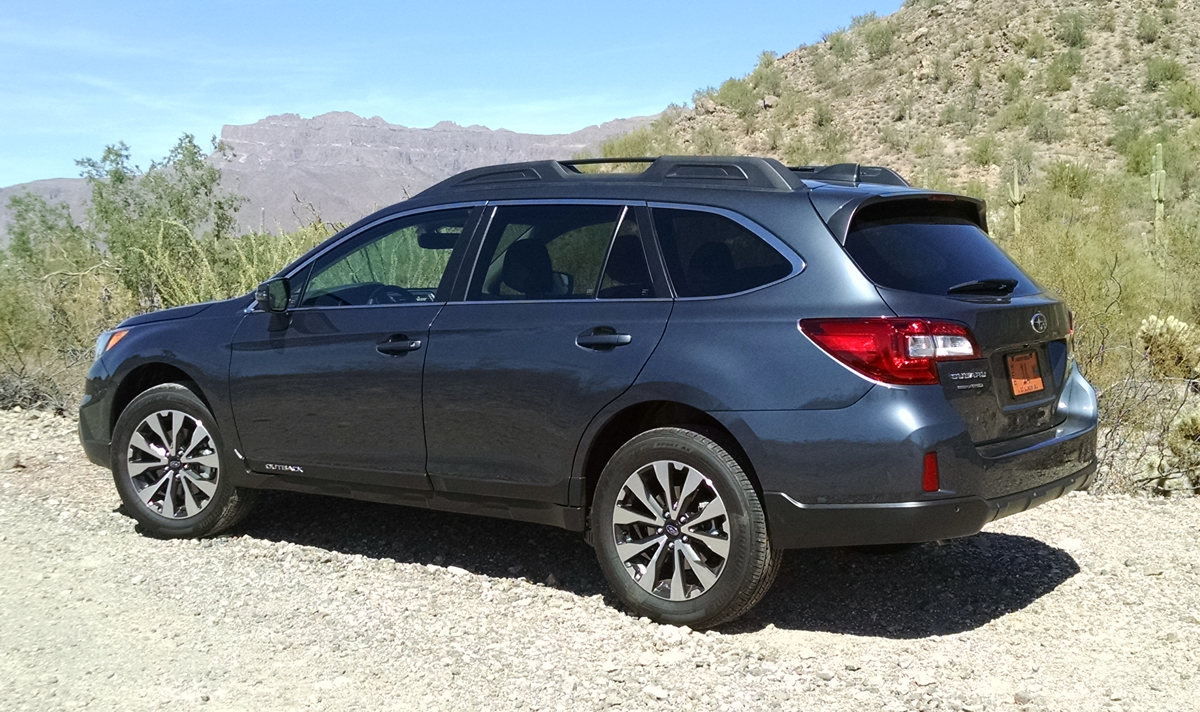 Test Drive 2017 Subaru Outback Limited 2 5 Testdriven Tv