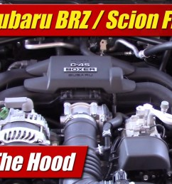 under the hood 2016 subaru brz scion fr s testdriven tv rh testdriven tv subaru impreza engine diagram subaru impreza engine diagram [ 1920 x 1080 Pixel ]