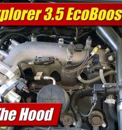 under the hood ford explorer 3 5 ecoboost [ 1920 x 1080 Pixel ]