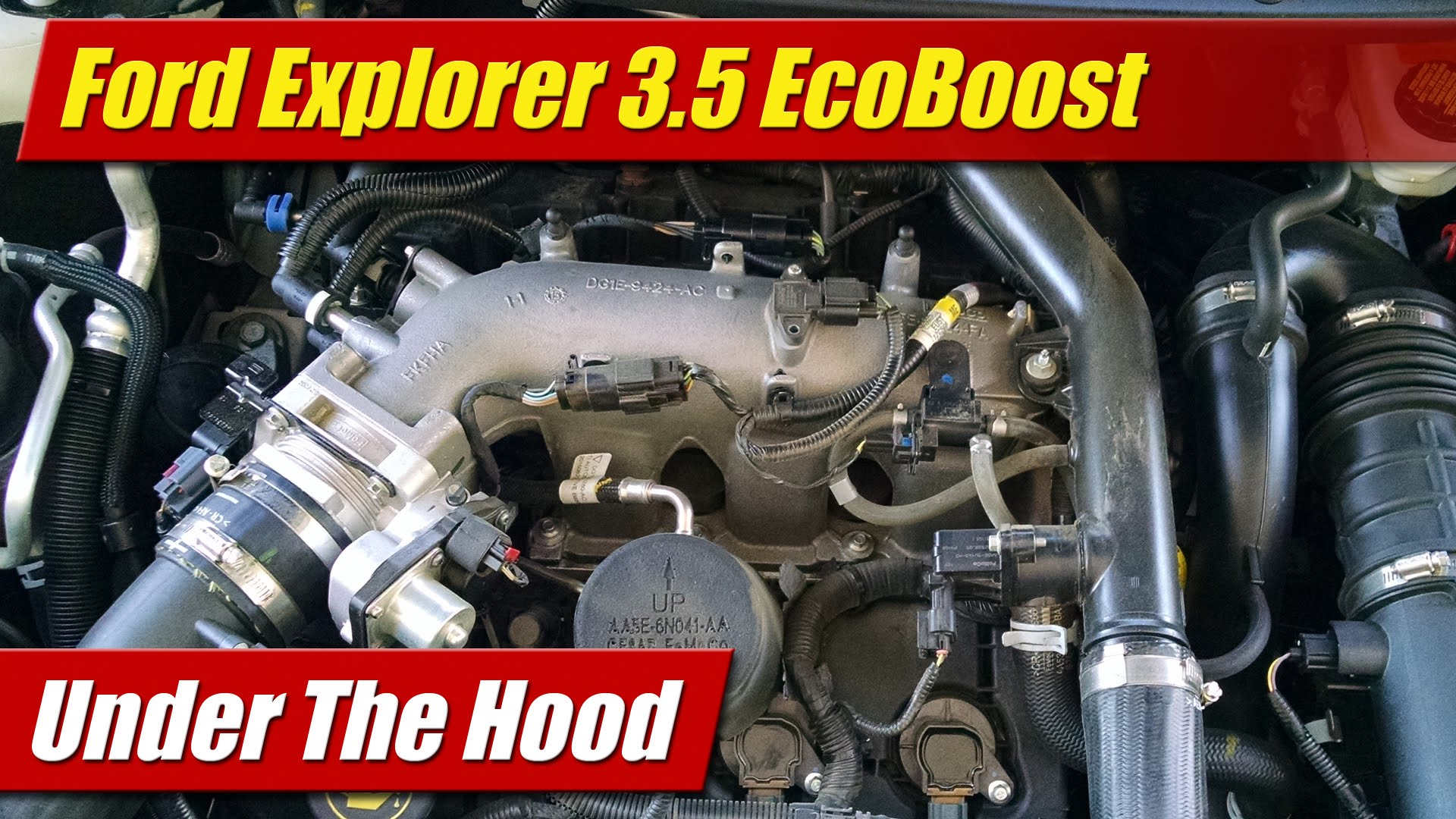 hight resolution of under the hood ford explorer 3 5 ecoboost