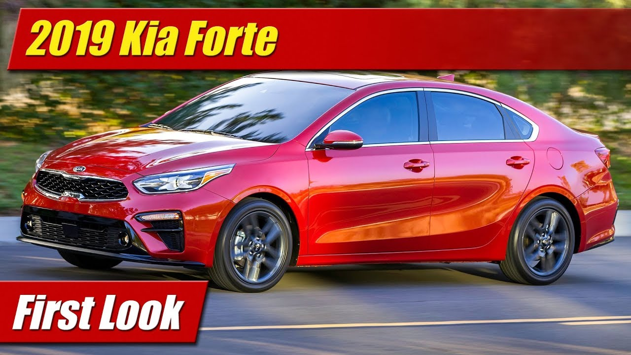 First Look 2019 Kia Forte Testdriventv