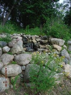 Waterfall at Strawbale Studio