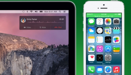 iOS 8 phone calls on tablet and Mac