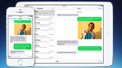 iOS 8 iMessages for iPad and Mac
