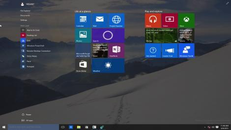 Updated: Windows 10's resizable start menu is coming soon