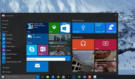 Hands-on review: Updated: Windows 10