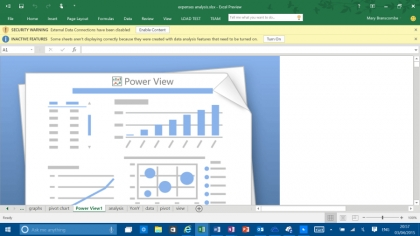 Excel 2016 BI