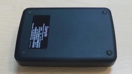 Toshiba 3TB Canvio underside