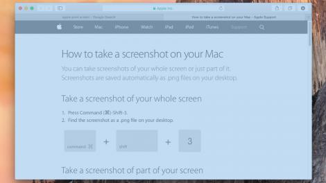 How to: How to take a screenshot on a Mac - and 10 more awesome tips