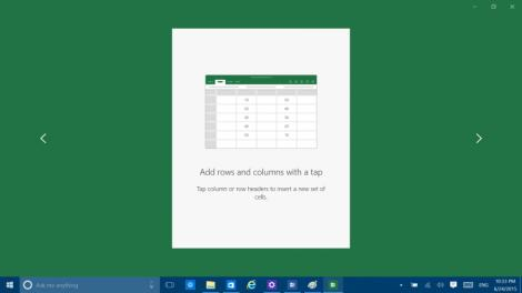 Office for Windows 10 appears in latest build