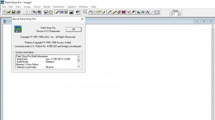 PaintShop Pro 4.12