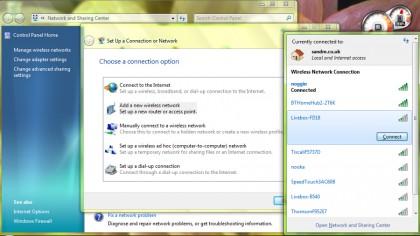 wireless networking in windows 7