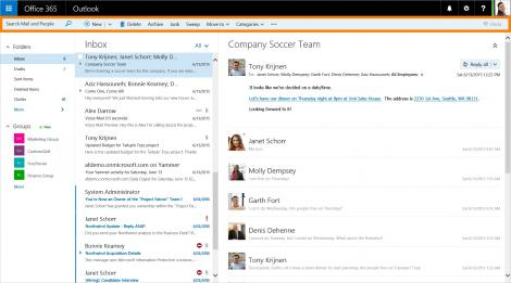 Microsoft gives Outlook on the web a new look