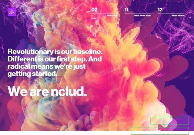 Design agency: nclud