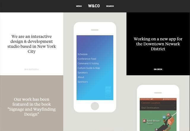 Design agency: W&Co