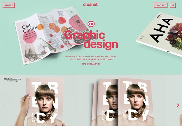 Design agency: creanet