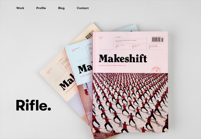 Design agency: Rifle