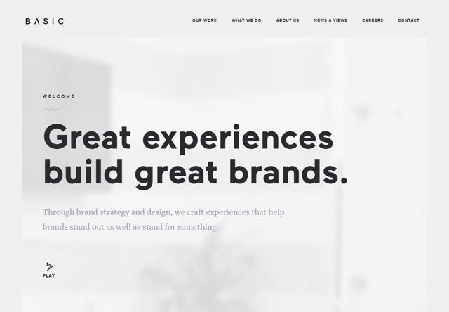 Design agency: BASIC