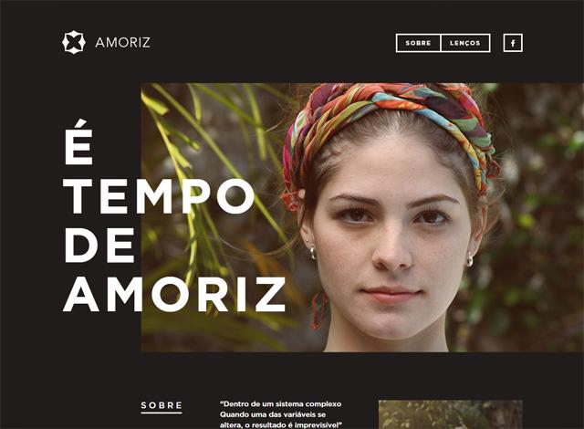 One-page website: AMORIZ