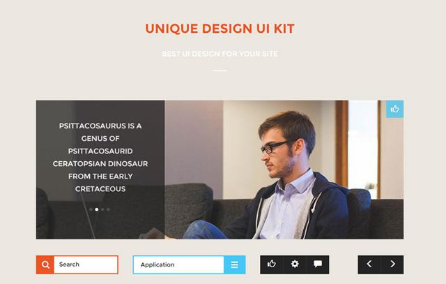 Unique Design UI Kit
