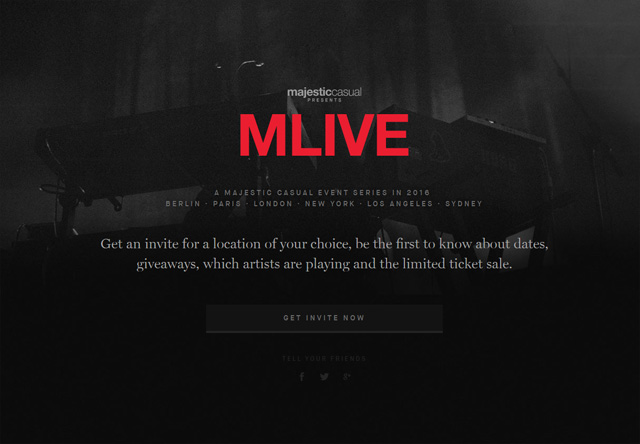 Coming soon page of MLIVE