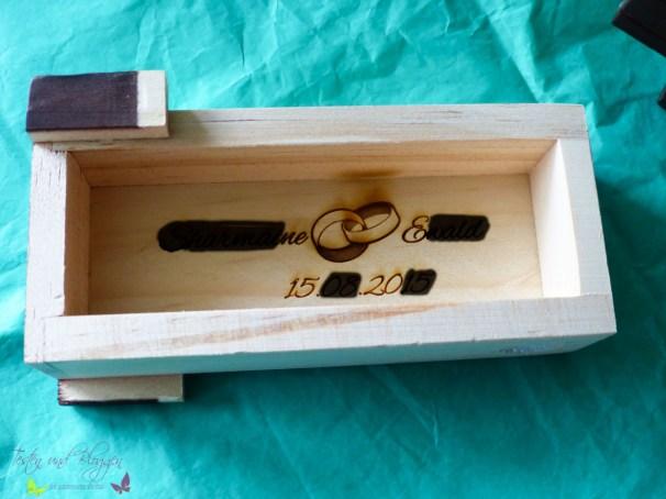 Magische Geschenkbox mit Gravur