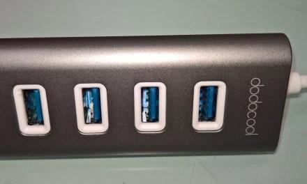 Aus USB-C wird 4xUSB 3 [USB-Hub von Dodocool (4,5 von 5)]