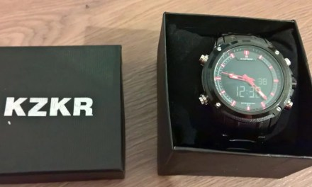 2 in 1 [Herrenuhr von KZKR ( 5 von 5)]