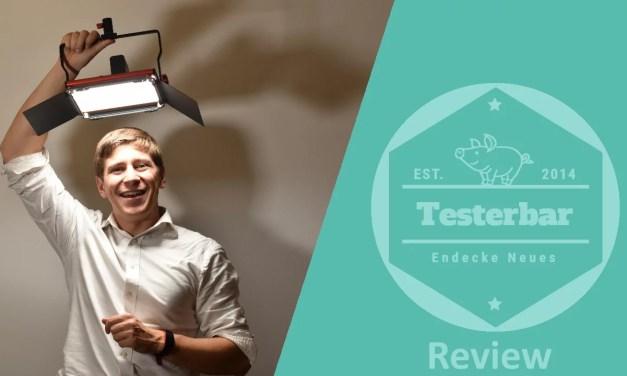 Preiswerte Videoleuchte im Test –  Videolicht von Neewer