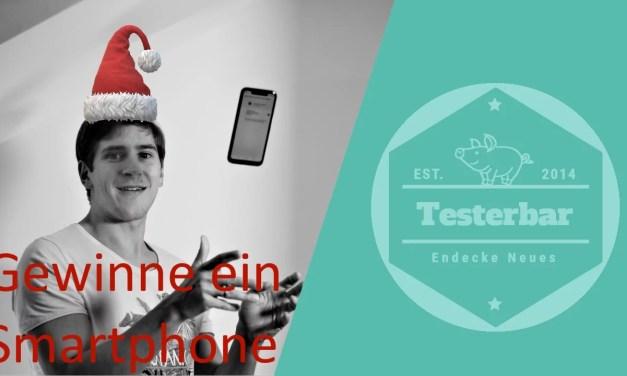 Gewinne ein Smartphone und erhalte es bis Weihnachten!