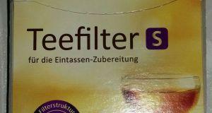 Cilia® Teefilter S 1