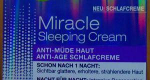 Garnier Miracle Sleeping Cream 1