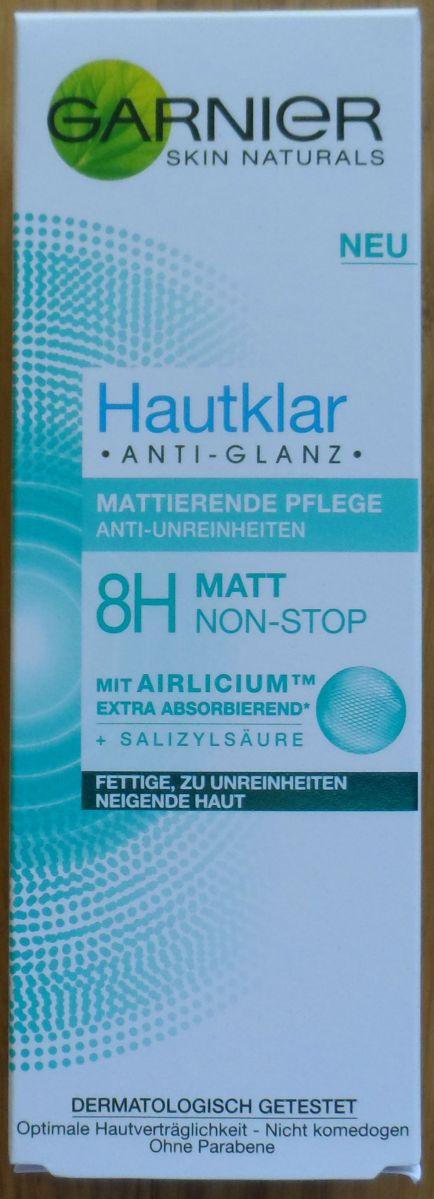 Garnier Hautklar Anti-Glanz