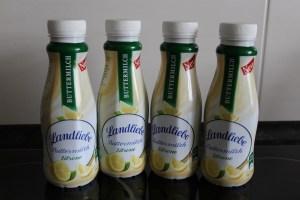 Landliebe Buttermiclh Zitrone