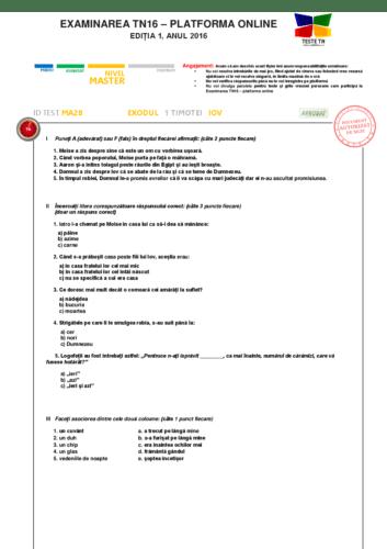 TEST MA28