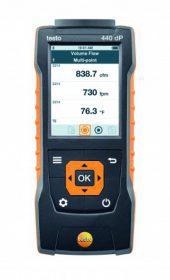 Testo 440 DP daugiafunkcinis oro greičio, kokybės ir diferencinio slėgio matavimo prietaisas