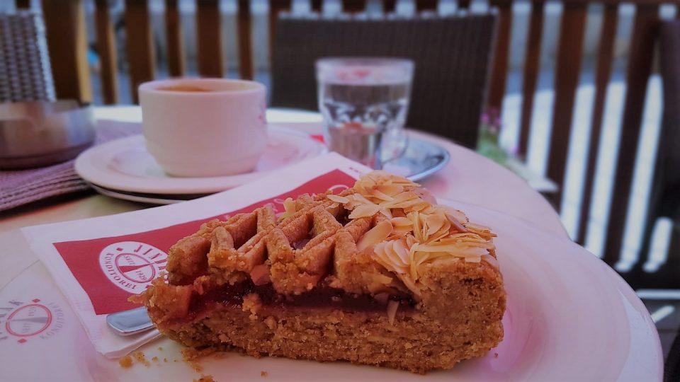 Linzer Torte in der Konditorei Jindrak  sterreich